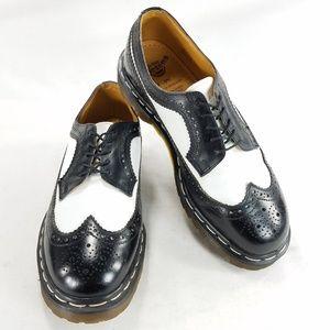 Dr Doc Martens England Wingtip Brogue Oxford Shoes